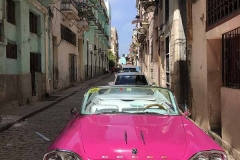 Pink Dodge in Havana