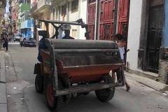 Unidentified vehicle