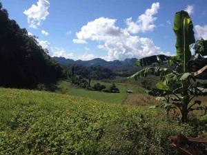 Trekking near Soppong
