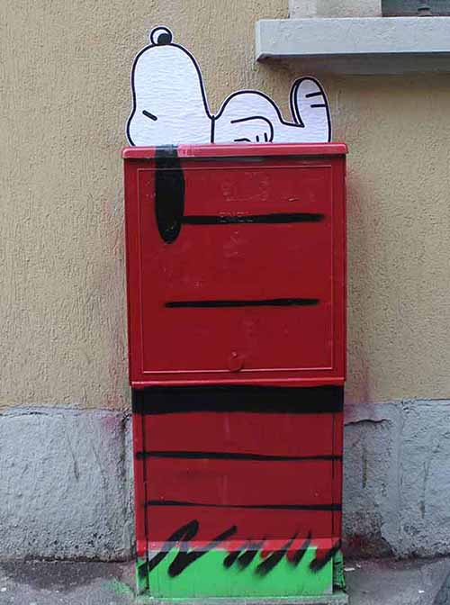 Electrical box (Snoopy)