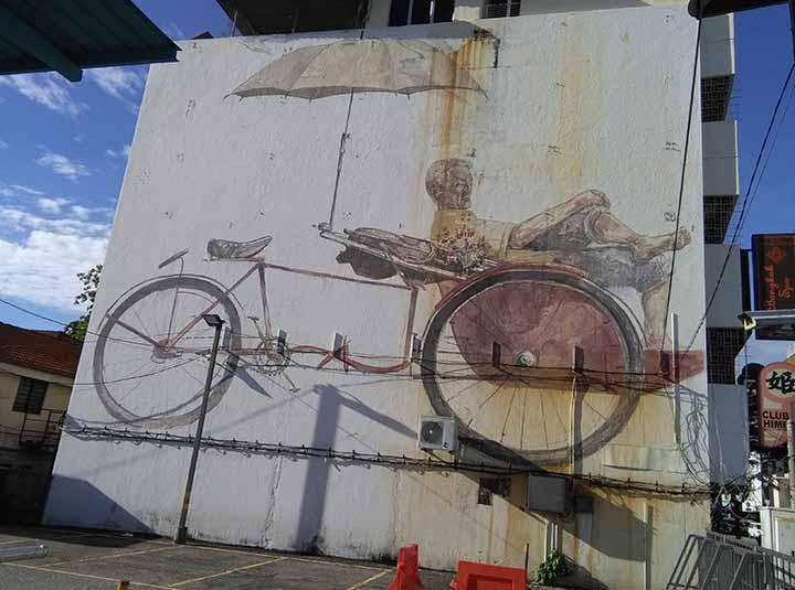 trishaw padler