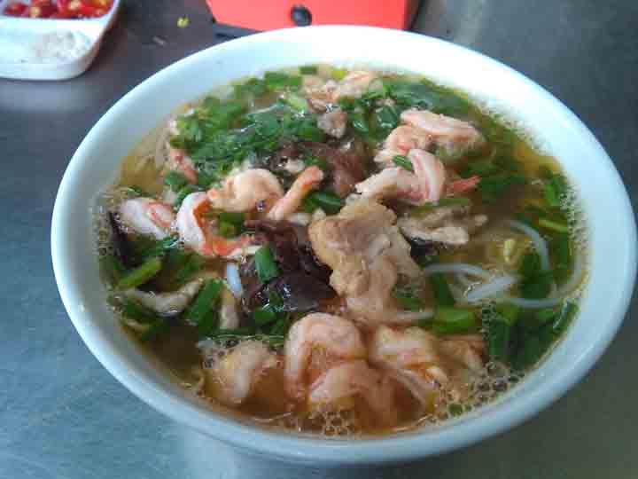 bun tom - Hai Phong