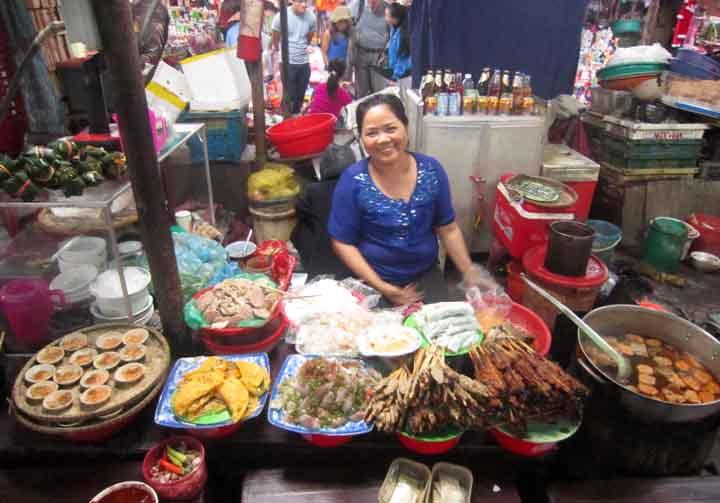Hué street food stand