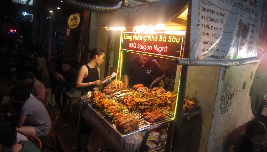 Best 6 street BBQ I tried in Southeast Asia