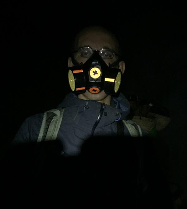 Filtering mask
