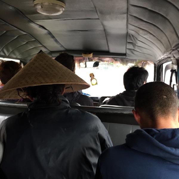 Minivan to Cemoro Lawang